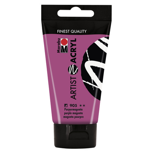 Artist Acryl 75 ML - Purpermagenta