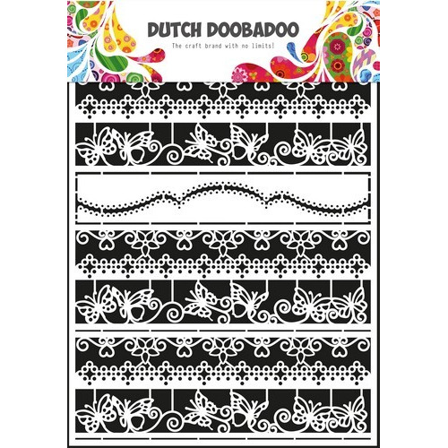 Dutch Doobadoo Dutch Paper Art randen 2 - A5 472.948.041 (11-16)