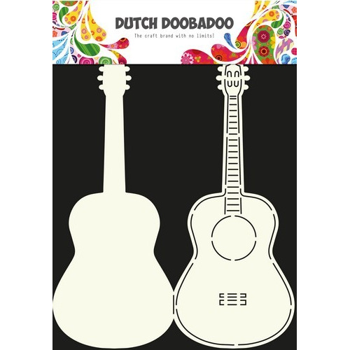 Dutch Doobadoo Dutch Card Art Stencil guitar  A4 470.713.613 (11-16)