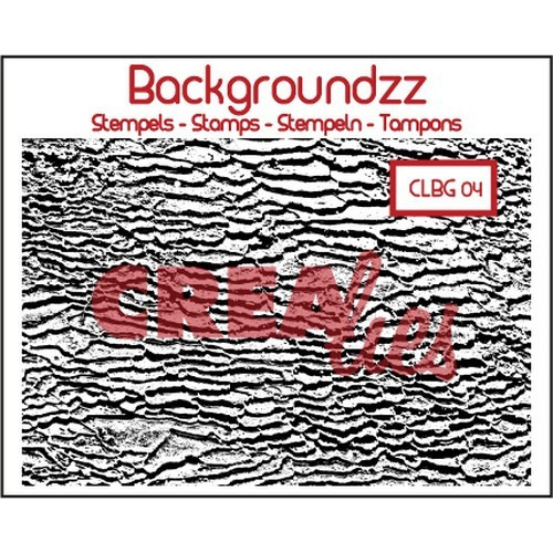 Crealies Clearstamp Backgroundzz 04 strand 95x135mm / CLBG04 (10-16)