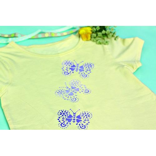 Sjablonen zelfklevends a5 - Papillons