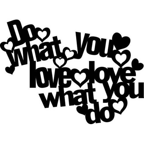 Marabu silhouette sjabloon 30x30 cm - M13 do what you love