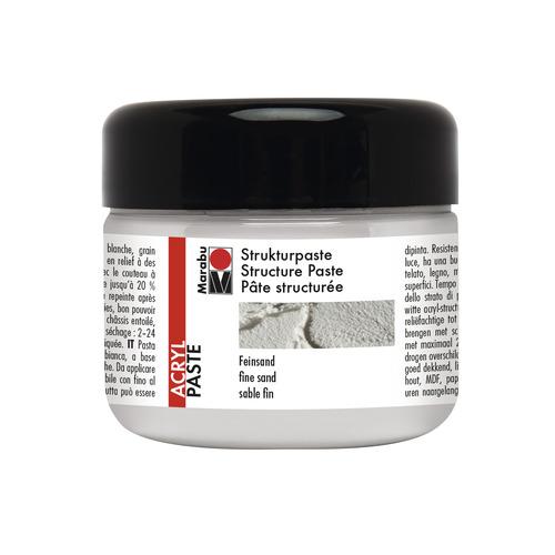 Structuurpasta fijn zand 225 ml