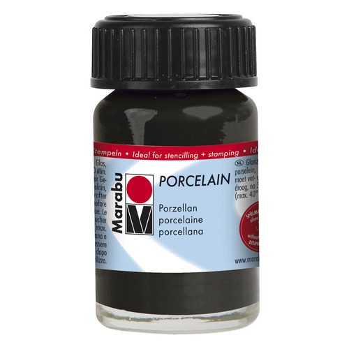 Porcelain 15 ml - Zwart