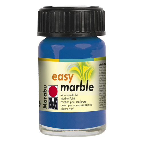 Easy marble 15 ml - Azuurblauw