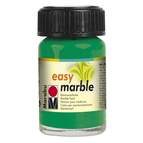 Easy marble 15 ml - Donkergroen