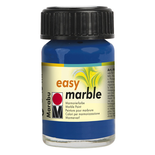 Easy marble 15 ml - Ultramarijnblauw