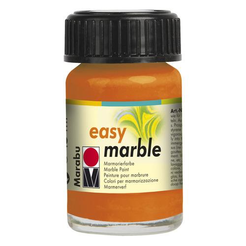 Easy marble 15 ml - Oranje