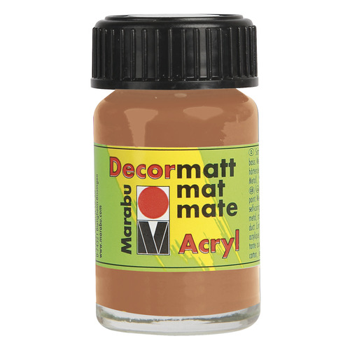Decormatt acryl 15 ml - Koper metallic