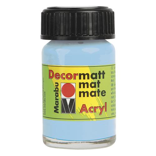 Decormatt acryl 15 ml - Pastelblauw
