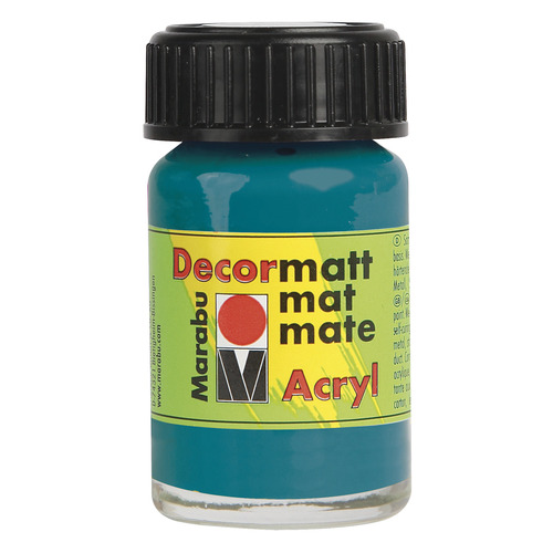 Decormatt acryl 15 ml - Turkoois