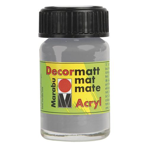 Decormatt acryl 15 ml - Lichtgrijs
