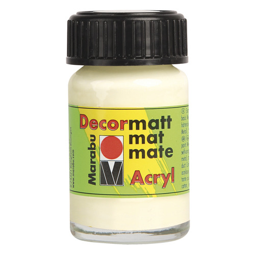 Decormatt acryl 15 ml - Ivoorwit