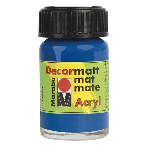 Decormatt acryl 15 ml - Koningsblauw