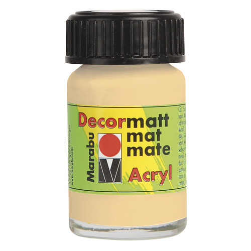 Decormatt acryl 15 ml - Perzik