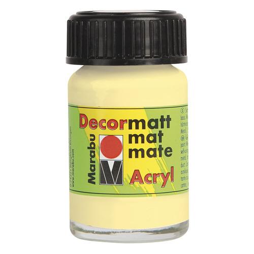Decormatt acryl 15 ml - Vanille