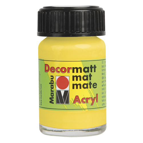 Decormatt acryl 15 ml - Mango