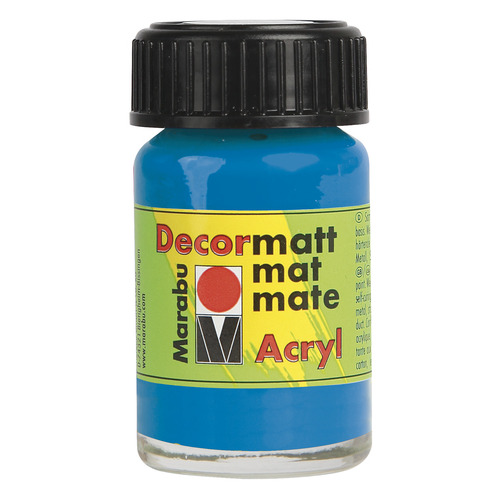 Decormatt acryl 15 ml - Azuurblauw