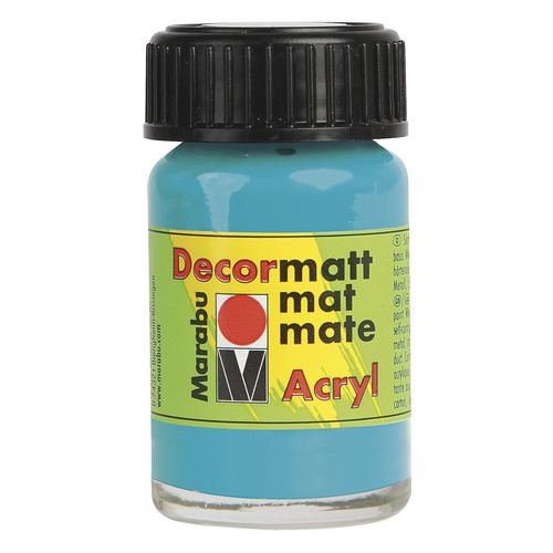 Decormatt acryl 15 ml - Caribisch blauw