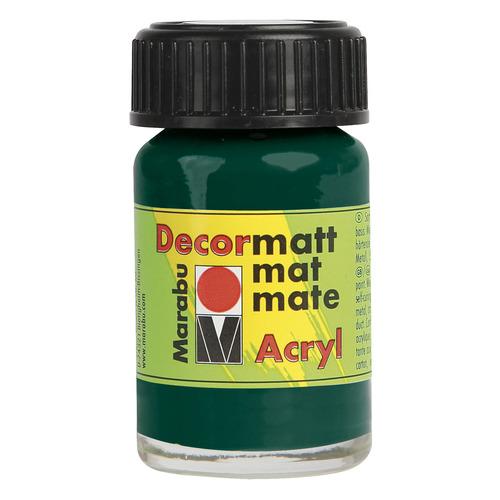 Decormatt acryl 15 ml - Dennegroen