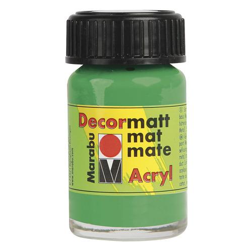 Decormatt acryl 15 ml - Lichtgroen