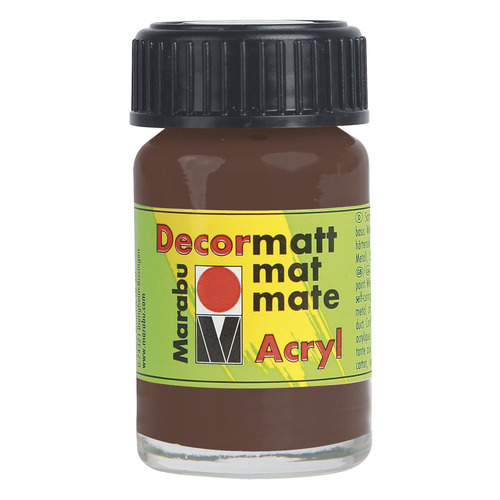 Decormatt acryl 15 ml - Middenbruin