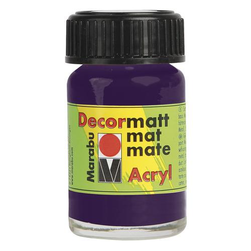 Decormatt acryl 15 ml - Aubergine