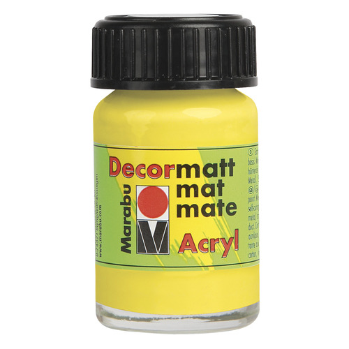 Decormatt acryl 15 ml - Citroen