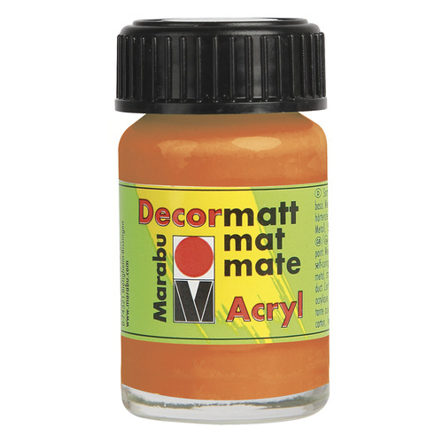 Decormatt acryl 15 ml - Oranje
