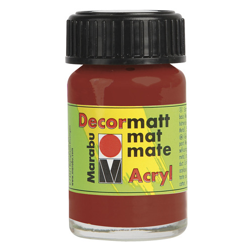 Decormatt acryl 15 ml - Terra cotta