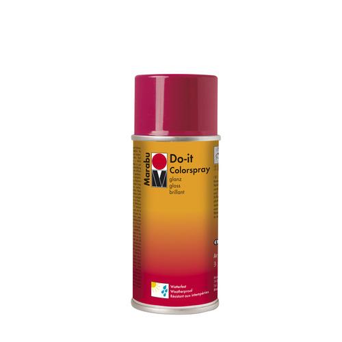 Do-it hoogglanzend  acrylverf spuitbus 150 ml - Rood glanzend