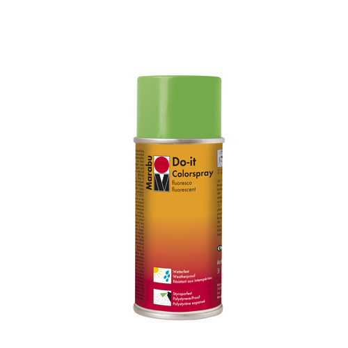 Do-it fluo acrylverf spuitbus 150 ml - Groen fluo