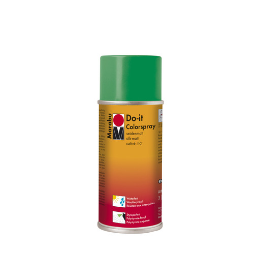 Do-it zijdematte acrylverf spuitbus 150 ml - Sapgroen