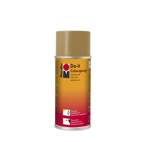 Do-it zijdematte acrylverf spuitbus 150 ml - Zand
