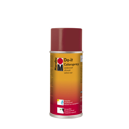 Do-it zijdematte acrylverf spuitbus 150 ml - Terracotta