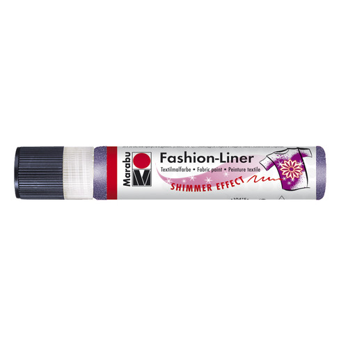 Marabu fashion liner 25 ml - Lila glitter 596