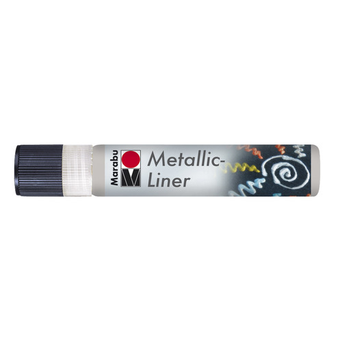 Metallic Liner 25 ML - Zilver