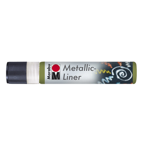 Metallic Liner 25 ML - Olijf