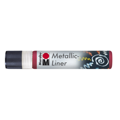Metallic Liner 25 ML - Rood