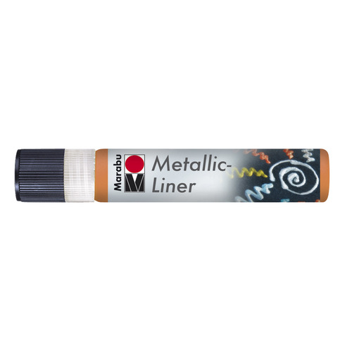 Metallic Liner 25 ML - Oranje