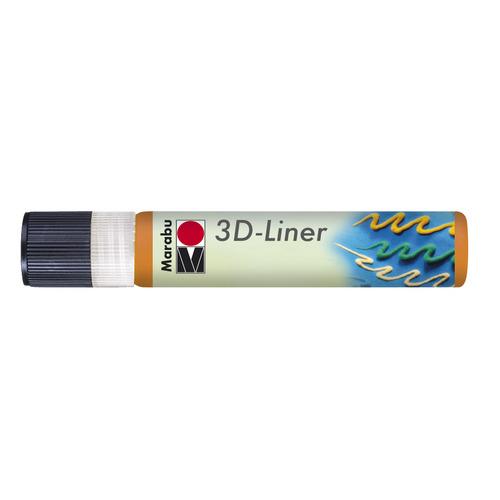 3D Liner 25 ML - Oranje
