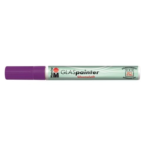 Glas painter 3-4mm - Amethyst