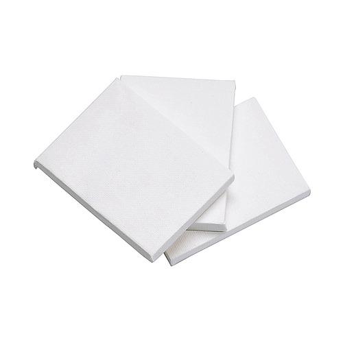 Mini schildersdoek 6 x 8 x 1 cm, 280 g/m² in display