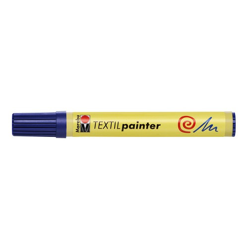 Textil painter - punt 2 - 4 mm - Donkerblauw