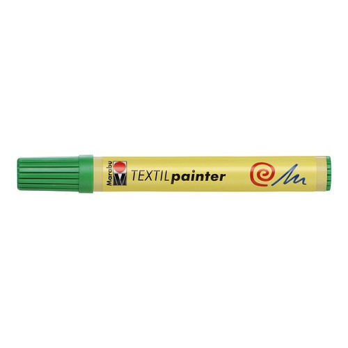 Textil painter - punt 2 - 4 mm - Lichtgroen