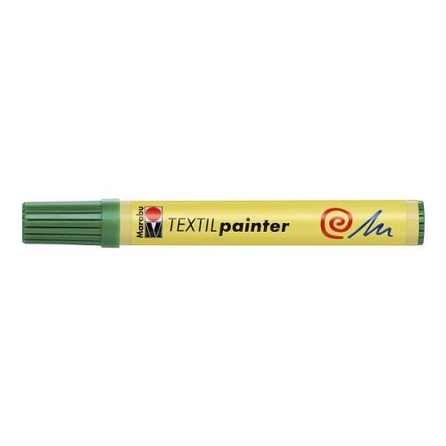Textil painter - punt 2 - 4 mm - Sapgroen