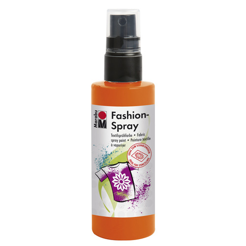 Marabu fashion spray 100 ml - Oranje rood 023