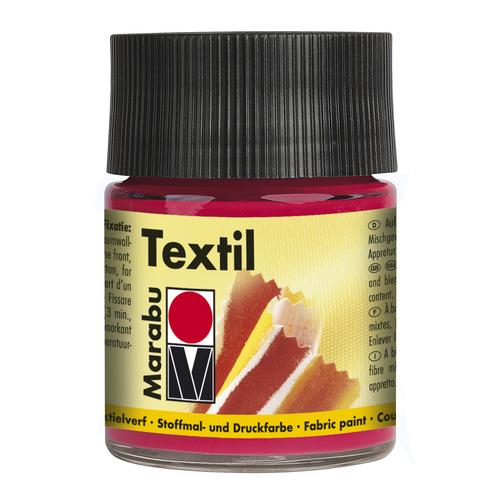Textil 50 ML - Karmijnrood