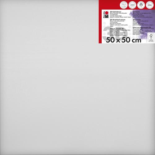 Schildersdoek 3d 50 x 50 x 3,8cm, 380 g/m²