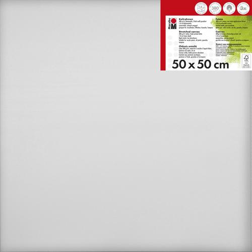 Schildersdoek 50 x 50  x 1,8 cm, 380 g/m